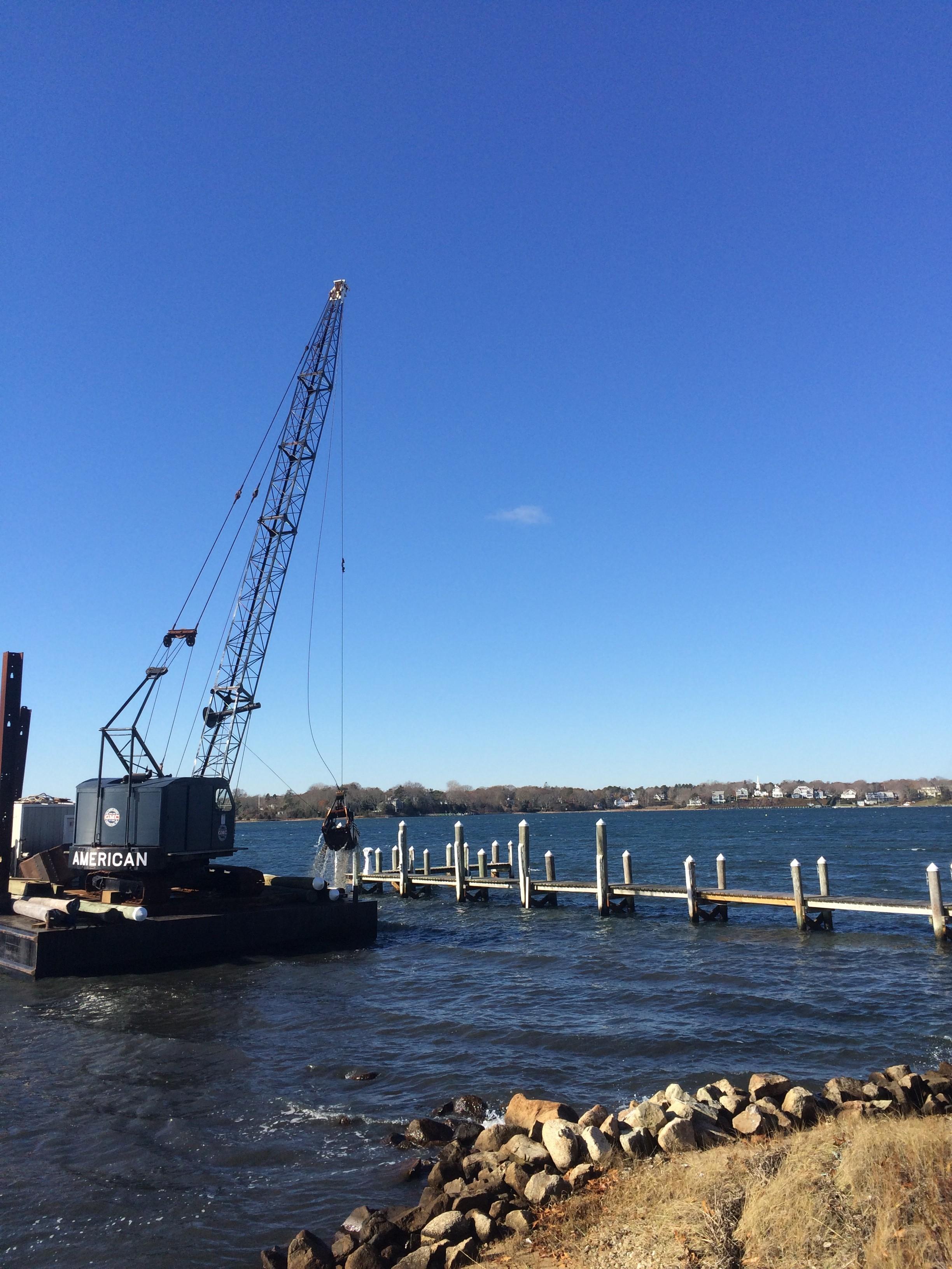 Cotuit Bay dredging project