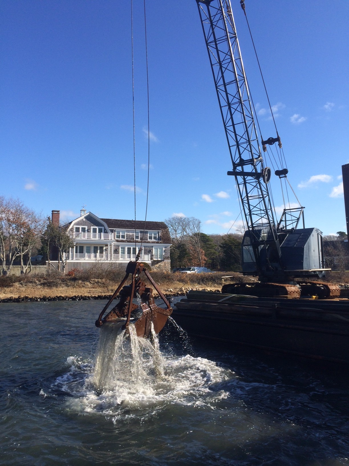 Osterville dredging project