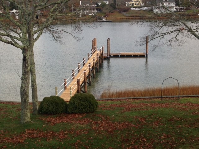 Onset, MA Pier Construction
