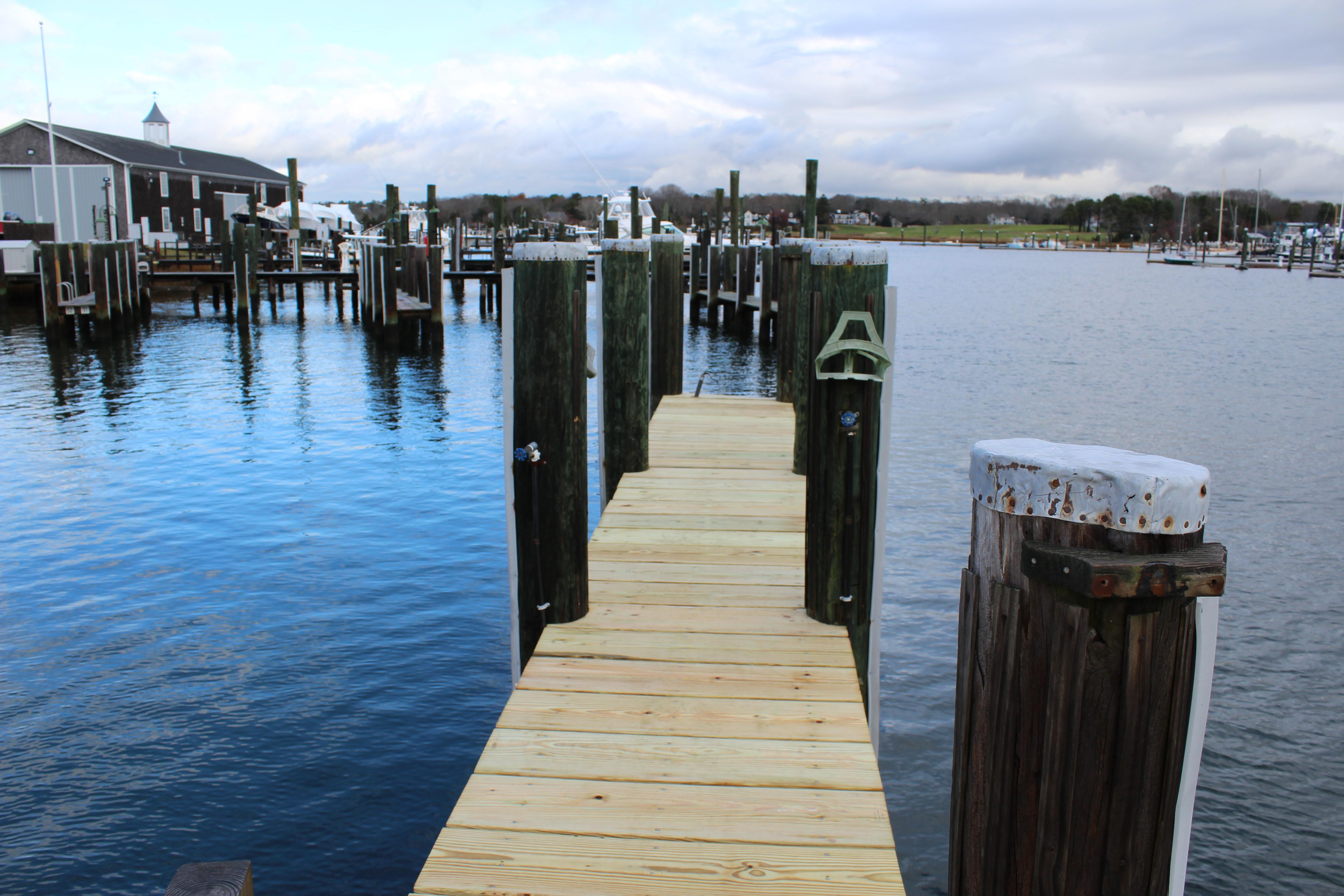 Cape Cod marine pier refinishing 2