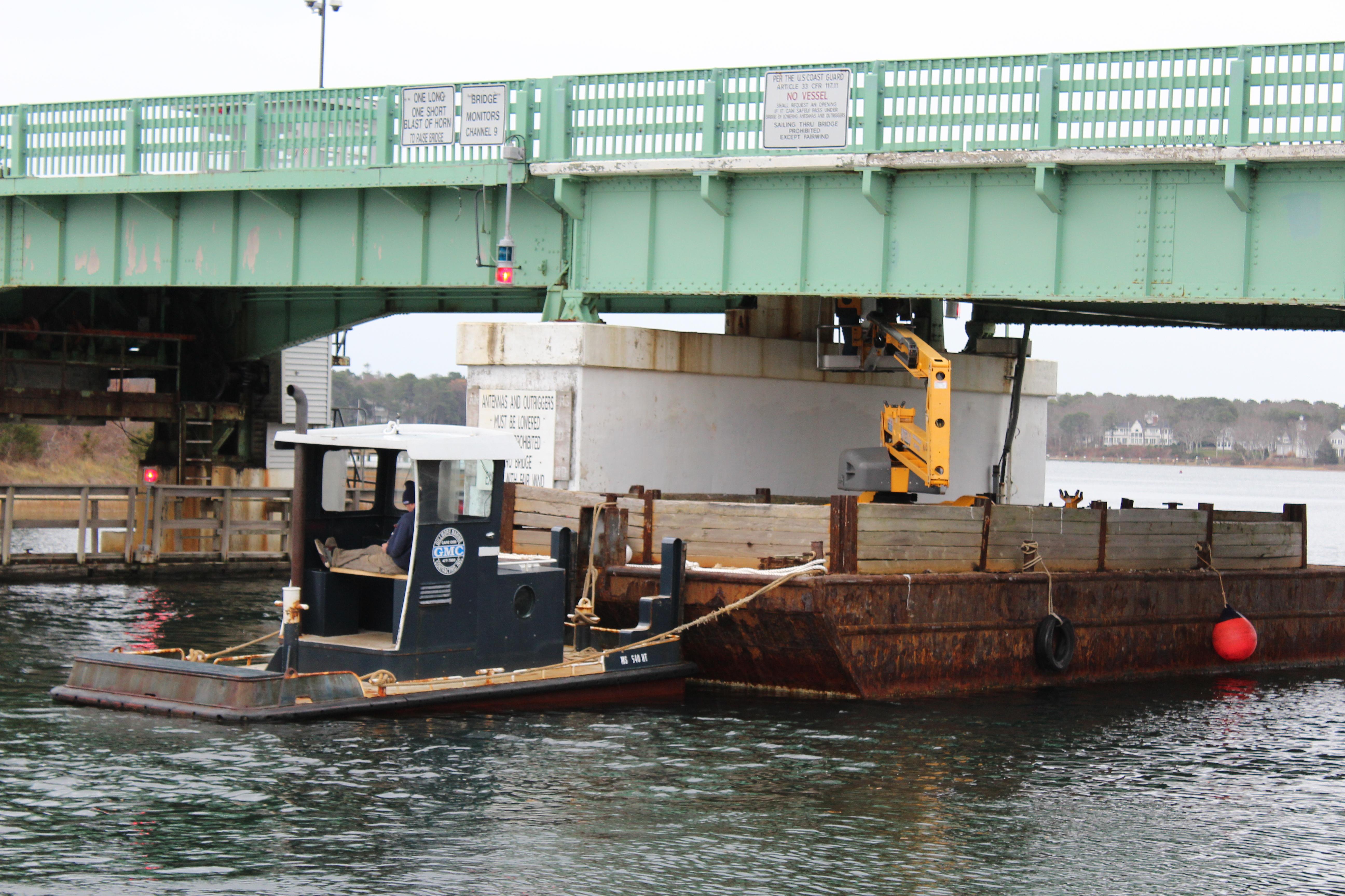 Osterville Bridge Inspection - December 2015